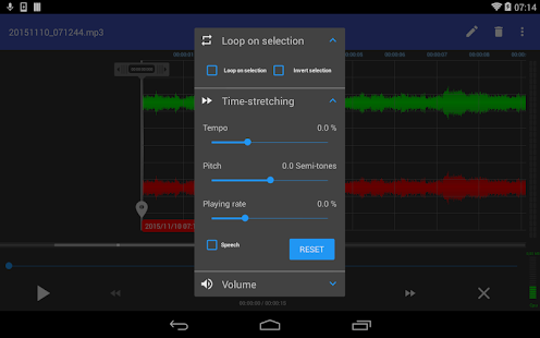RecForge II - Audio Recorder Screenshot