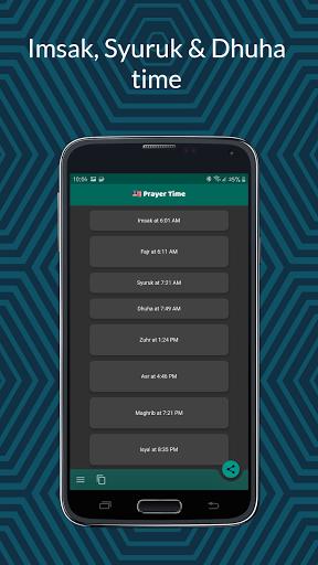 Malaysia Prayer Time 2021  Screenshots 4