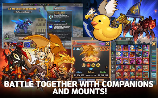 Raid the Dungeon : Idle RPG Heroes AFK or Tap Tap apkmr screenshots 13