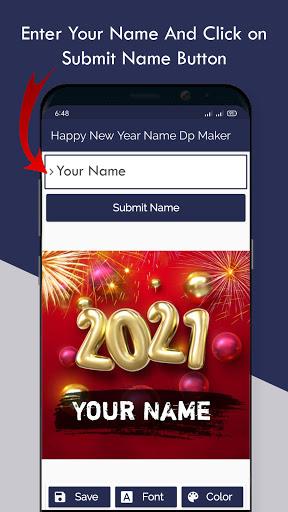 Happy New Year Name Dp Maker 2021  Screenshots 3