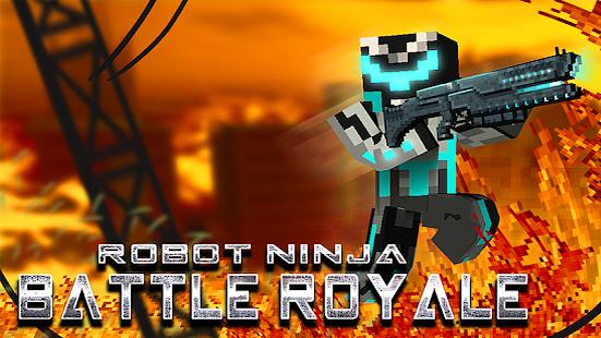 Robot Ninja Battle Royale mod apk
