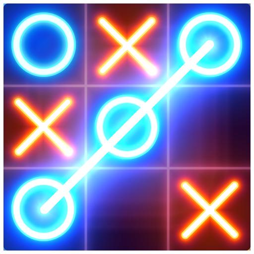 Tic Tac Toe glow - Free Puzzle Game