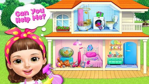 Sweet Baby Girl Cleanup 5 - Messy House Makeover 7.0.30030 screenshots 4