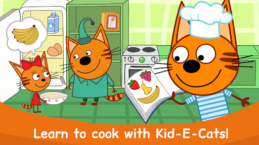 Kid-E-Cats: Cooking for Kids in Kitty Cat Games!  screenshots 1