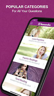Kasamba Psychic Reading & Daily Horoscopes Screenshot