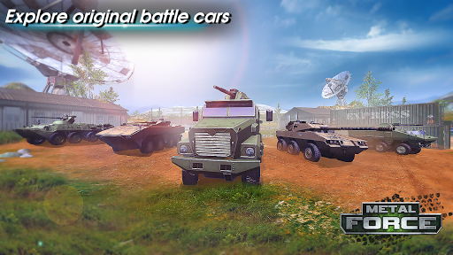 Metal Force: PvP Battle Cars and Tank Games Online  screenshots 3