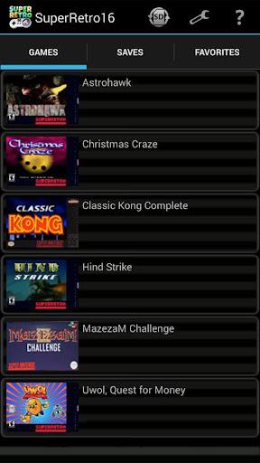 SuperRetro16 (SNES Emulator) 2.1.3 Screenshots 2