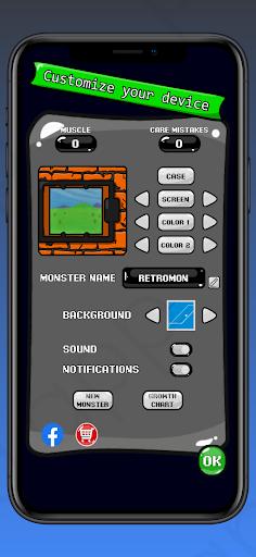 RetroMon - Virtual Pet Monster apkdebit screenshots 4
