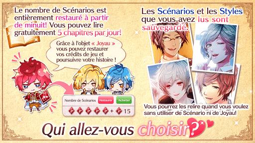 Code Triche Nightmare Harem: Otome games gratuity en français (Astuce) APK MOD screenshots 6