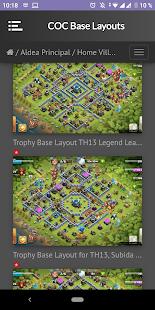 Base Layouts for COC screenshots 6
