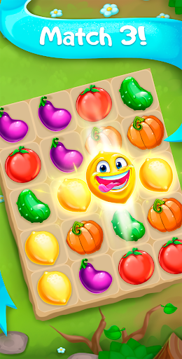 Funny Farm match 3 Puzzle game!  screenshots 1