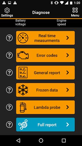 OBDclick - Free Auto Diagnostics OBD ELM327 0.9.28 Screenshots 1