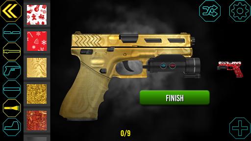 Gun Builder Custom Guns - Shooting Range Game 1.2.9 screenshots 1