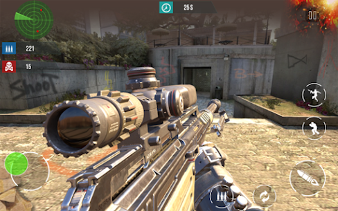 Modern Combat Gun Strike Shoot Hack & Cheats Online 3