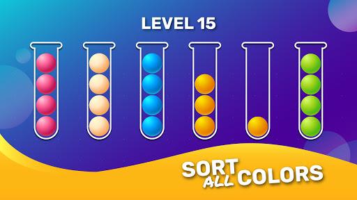 Ball Sort Puzzle - Brain Game Apkfinish screenshots 7