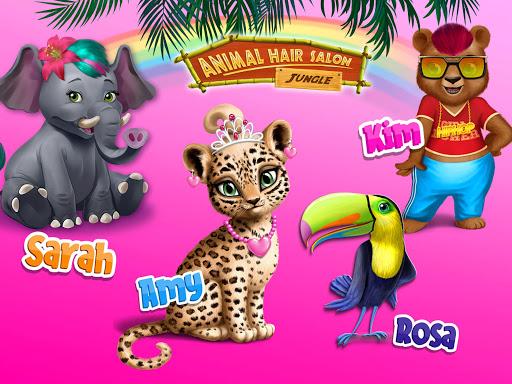 Jungle Animal Hair Salon - Styling Game for Kids 4.0.10018 screenshots 13