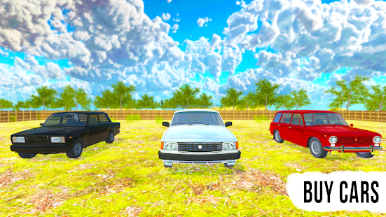 Driving Simulator: Russian Village & Online screenshots 6
