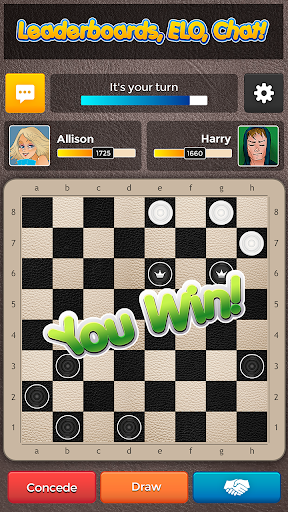 Checkers Plus - Board Social Games apkmr screenshots 2
