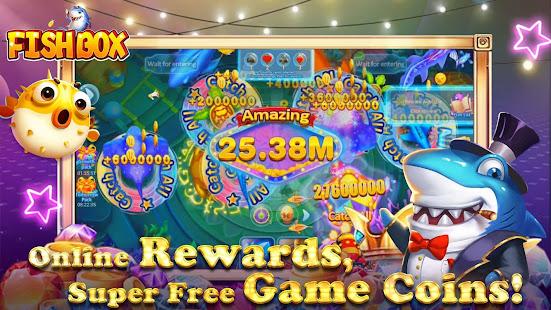Fish Box - Casino Slots Poker & Fishing Games screenshots 3