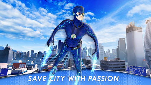 Superhero Flying flash hero game 2020  Screenshots 1