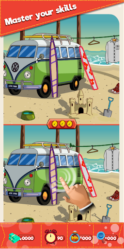find the differences – offline 250 levels free screenshot 2