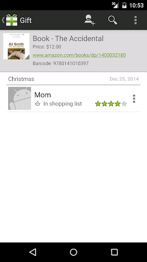 Foto do Gifted - Gift List Manager
