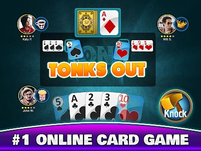 Tonk Multiplayer – Online Gin Rummy Free Variation 9