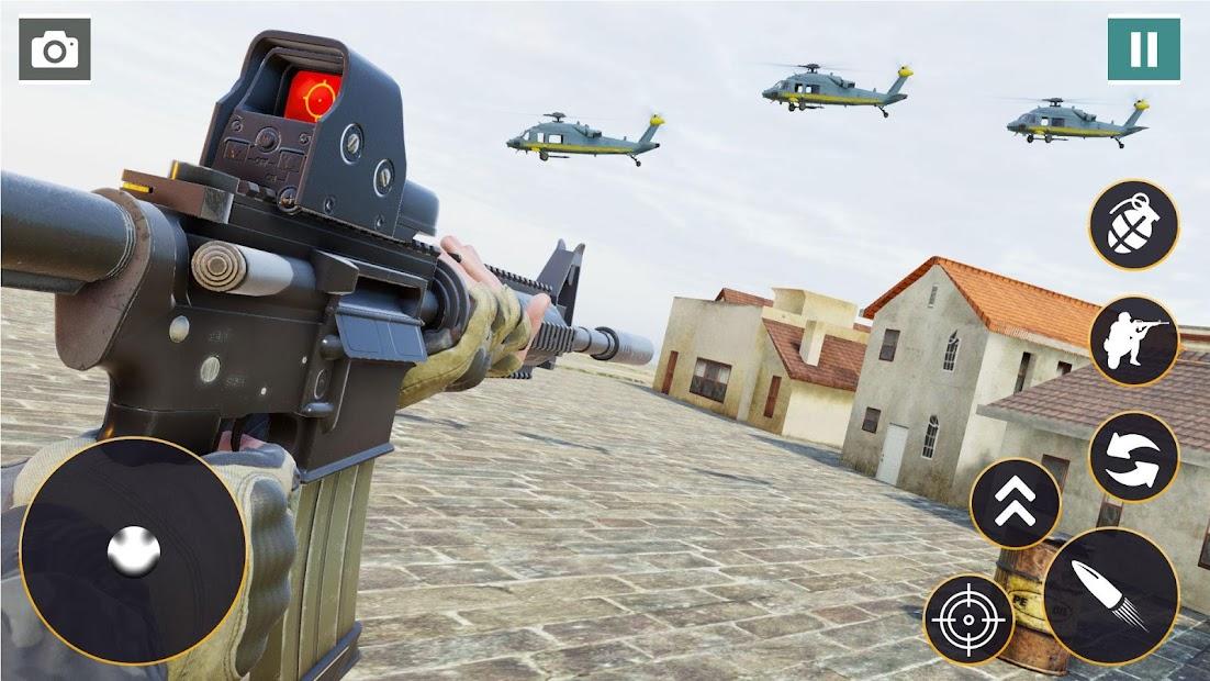 Captura de Pantalla 15 de Call of Commando Strike: Juegos de disparos para android