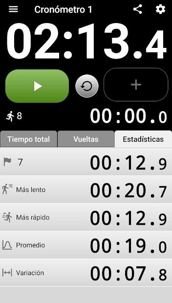 Imágen 4 de Cronómetro con voz. para android