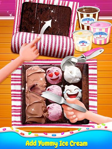 Ice Cream Cake Roll Maker - Super Sweet Desserts apkdebit screenshots 5