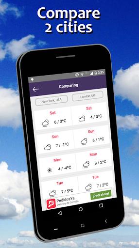 Weather Forecast free 5.7 screenshots 4