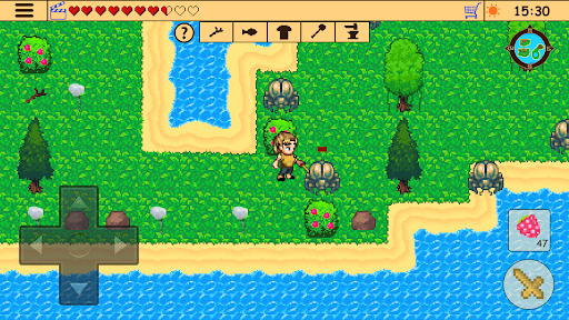 Survival RPG: Lost Treasure Adventure Retro 2d  screenshots 20