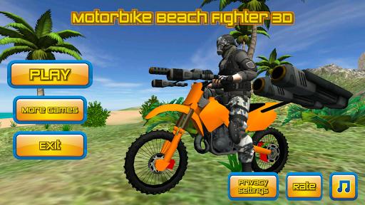 motorbike beach fighter 3d screenshot 1