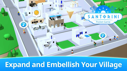 Santorini: Pocket Game  screenshots 2