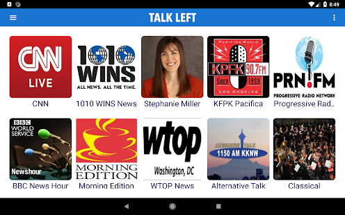 Talk Left - Progressive Talk Radio