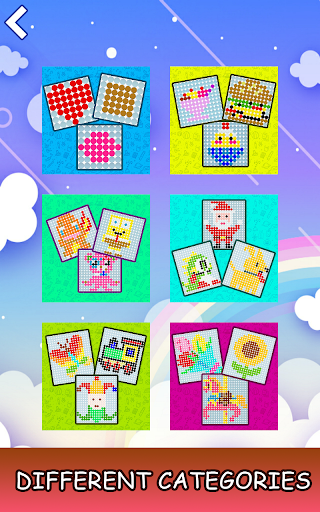 Mosaic Color by Number - Hex Puzzle Beads For Kids 1.7 screenshots 1