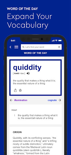 Foto do Dictionary.com English Word Meanings & Definitions