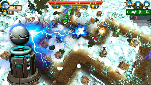 Fantasy Realm TD. Offline Tower Defense Game  screenshots 15