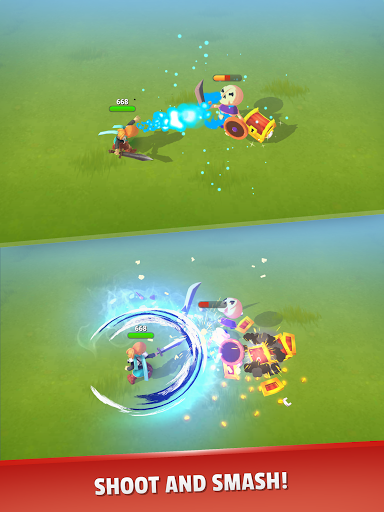 Dashero: Archer Sword 3D - Offline Arcade Shooting android2mod screenshots 23