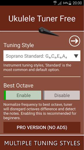 Ukulele Tuner Free 12.0 Screenshots 3