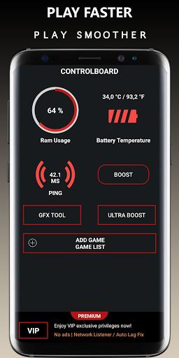 Game Booster Free Fire GFX- Lag Fix 39.0 screenshots 1