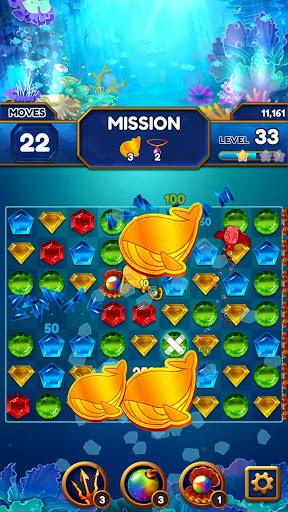 Under the Deep Sea: Jewel Match3 Puzzle screenshots 12