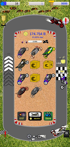 Match 3 Games: Merge Motorcycles - Smash Insects 1.52 screenshots 1
