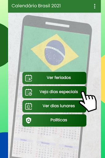 Calendu00e1rio Brasil 2021 Gru00e1tis android2mod screenshots 4