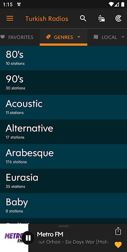 Radyo Kulesi - Turkish Radios 2.3.0 Screenshots 4
