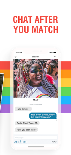 Her - Lesbian Dating, Free Chat & Meet with LGBTQ+ android2mod screenshots 3