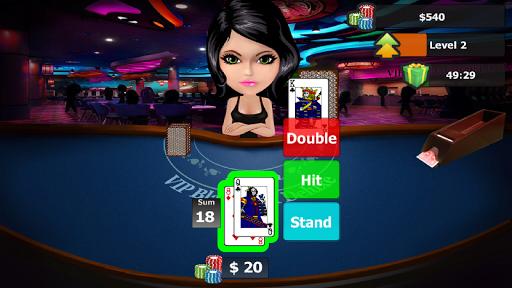vip blackjack 21 deluxe screenshot 1