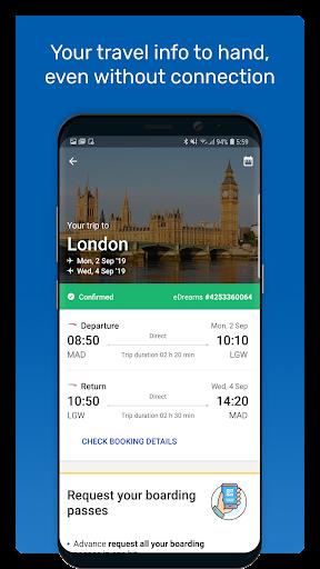 eDreams: Book cheap flights and travel deals modavailable screenshots 6