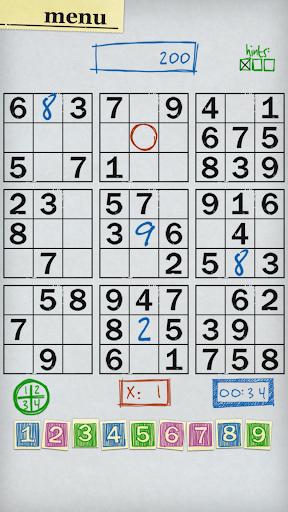 Sudoku - Number Puzzle Game  screenshots 1