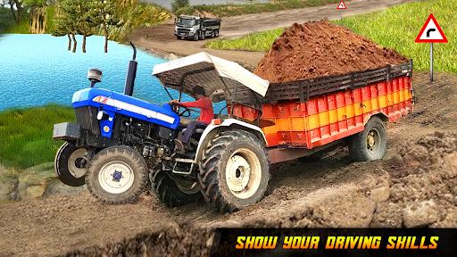 Tractor Trolley Drive Farming Simulator Game 2021 1.7 screenshots 1